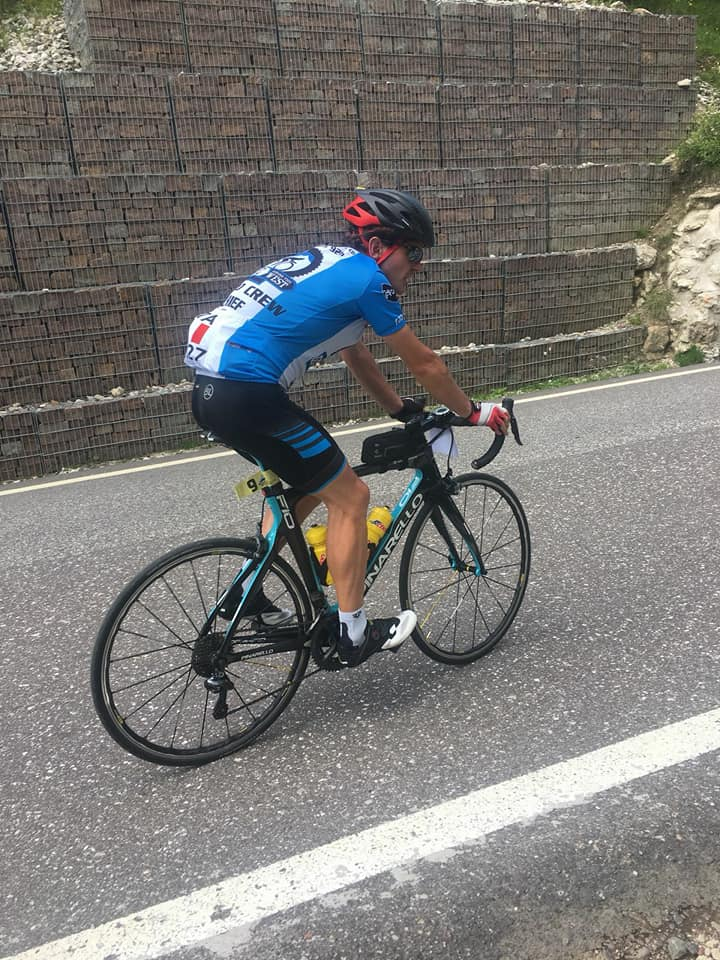 Enrico Scudeller Ultracycling Dolomitica Completo Pro Bicycle Line