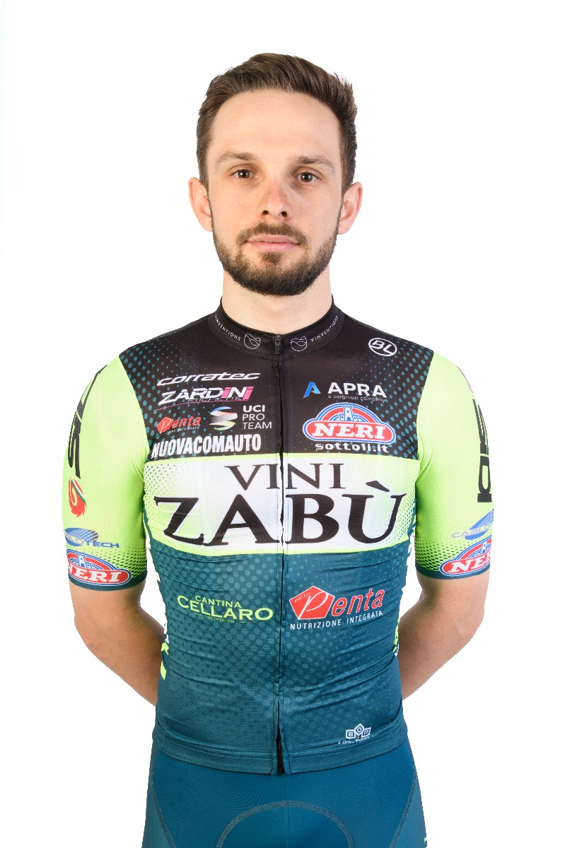 Jakub Mareczko presenta maglia 2021 Vini Zabù per Bicycle Line