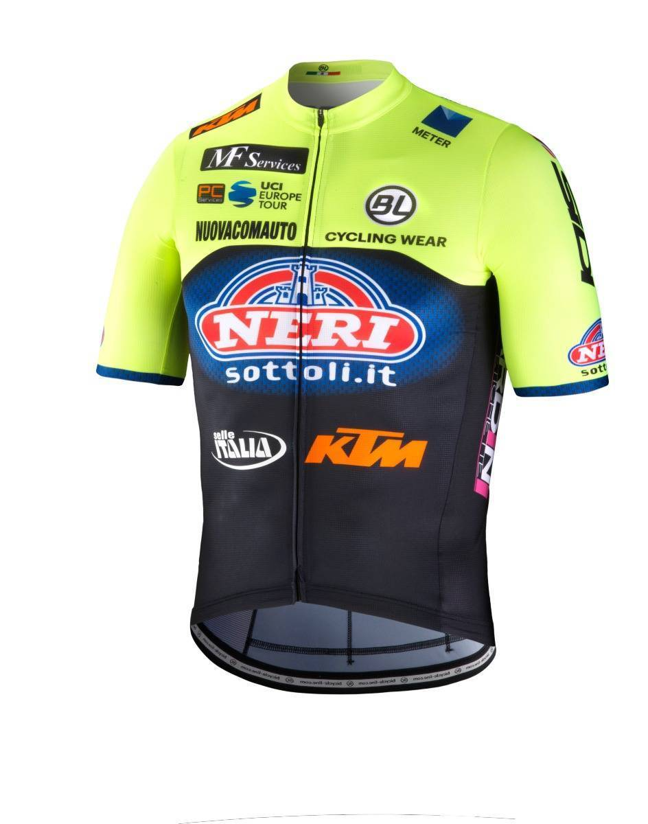 Maglia 2019 team NERI-SELLE ITALIA-KTM by BL